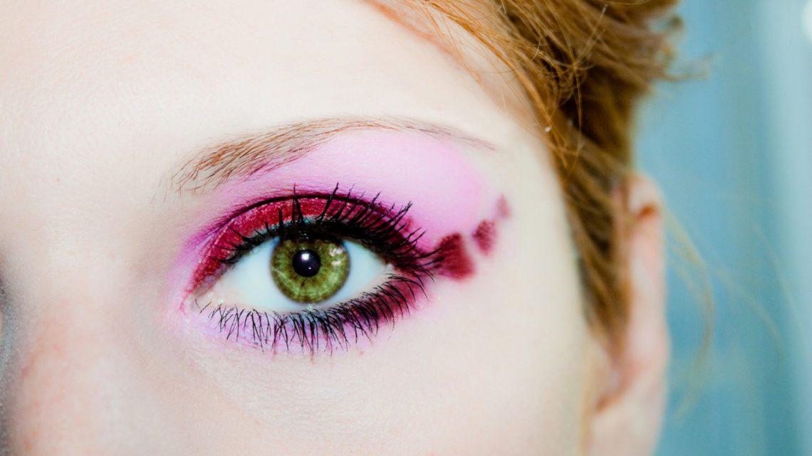 Piękny makijaż oka