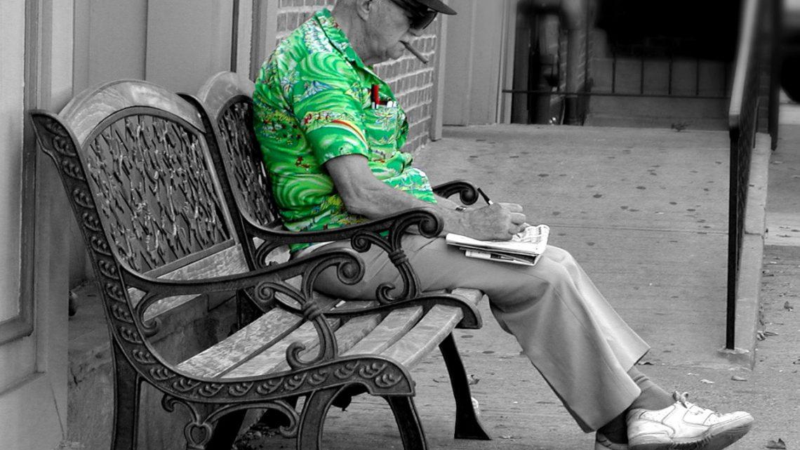 spędzenie wspólnego czasu z osobą starszą